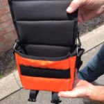 custom made padded spot light battery bag