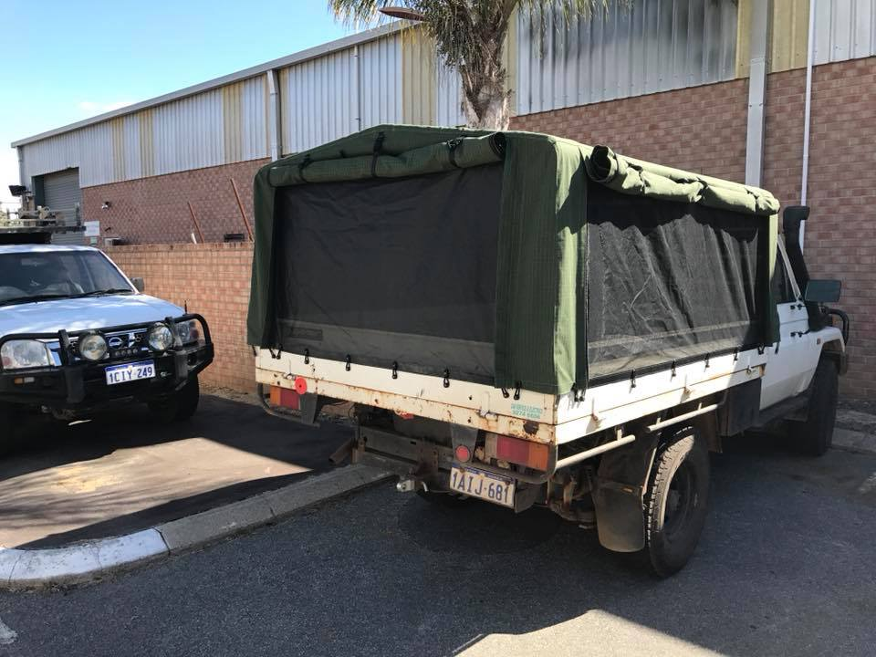 Custom Made Ute Canopy