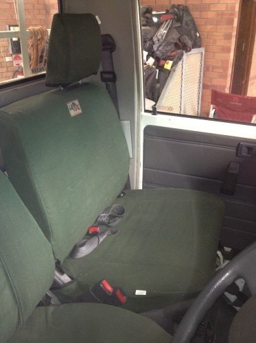 Landcrusier 79 Workmate Seat Cover Set