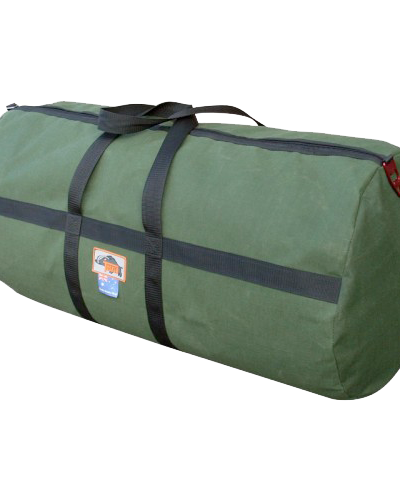 TK Sports Canvas Large Travel Bag - Green