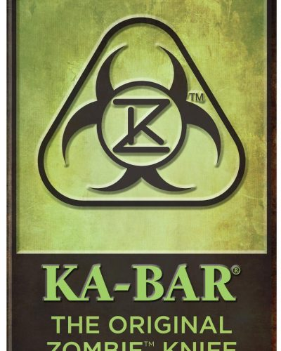 The Original KA-BAR® Zombie® Knife Metal Sign (5700SIGN)