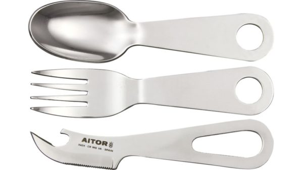 Aitor AI16054 Bucanero (Fork / Knife / Spoon / Can-Bottle Opener)