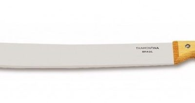 "Tramontina 16"" Blade Bush Machete with Wood Handle"