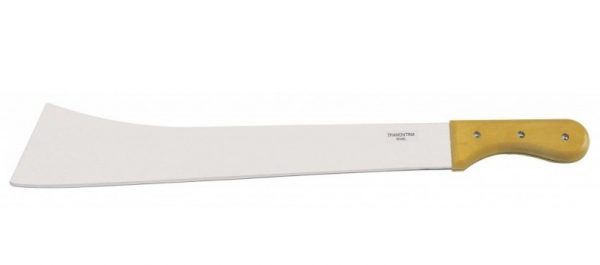 "Tramontina 18"" Blade Heavy Machete with Wood Handle"